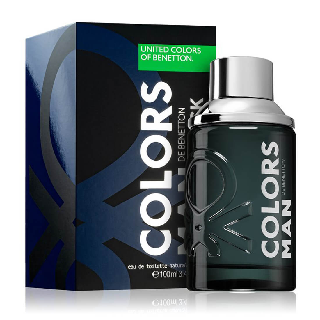 United Colors of Benetton Colors De Benetton Man Black Eau De Toilette For Men 100ml