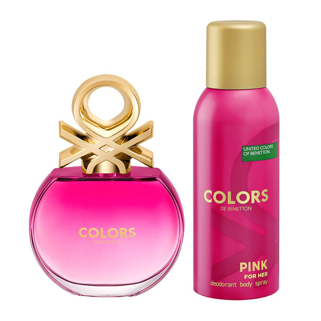 United Colors of Benetton Colors Pink Perfume Gift Set For Women