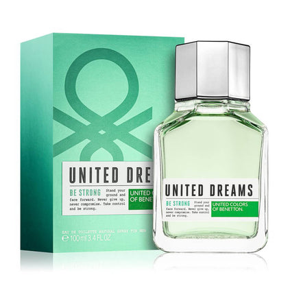 United Colors of Benetton United Dreams Be Strong Eau De Toilette For Men 100ml