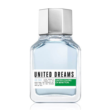 United Colors of Benetton United Dreams Go Far Eau De Toilette For Men 100ml