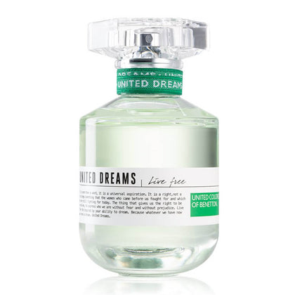 United Colors of Benetton United Dreams Live Free Eau De Toilette For Women 80ml
