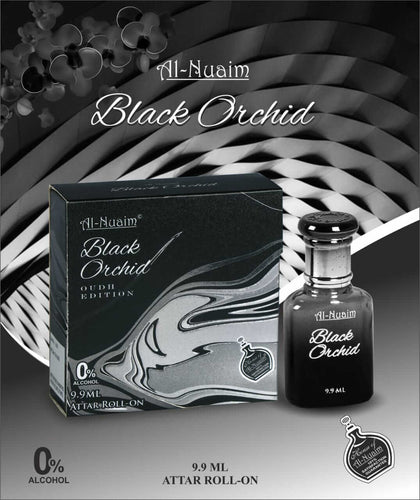 Al Nuaim Black Orchid Attar 9.9ML