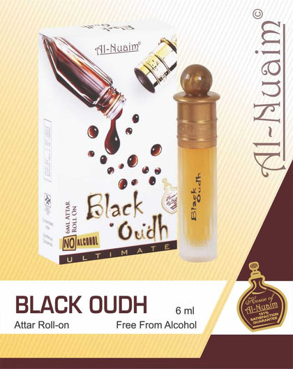 Al Nuaim Black Oudh Attar 6ML