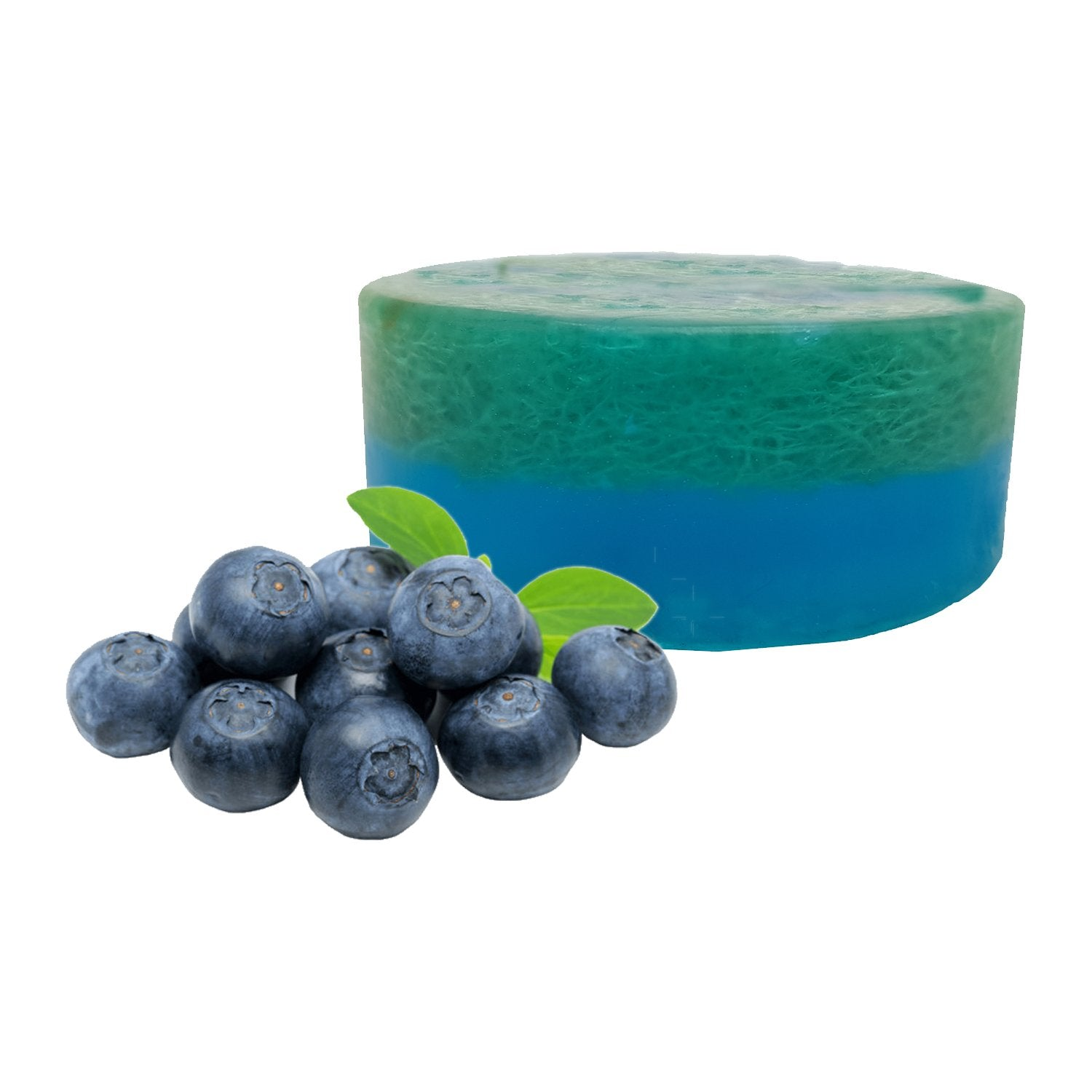 Organic Blueberry Loofah Soap