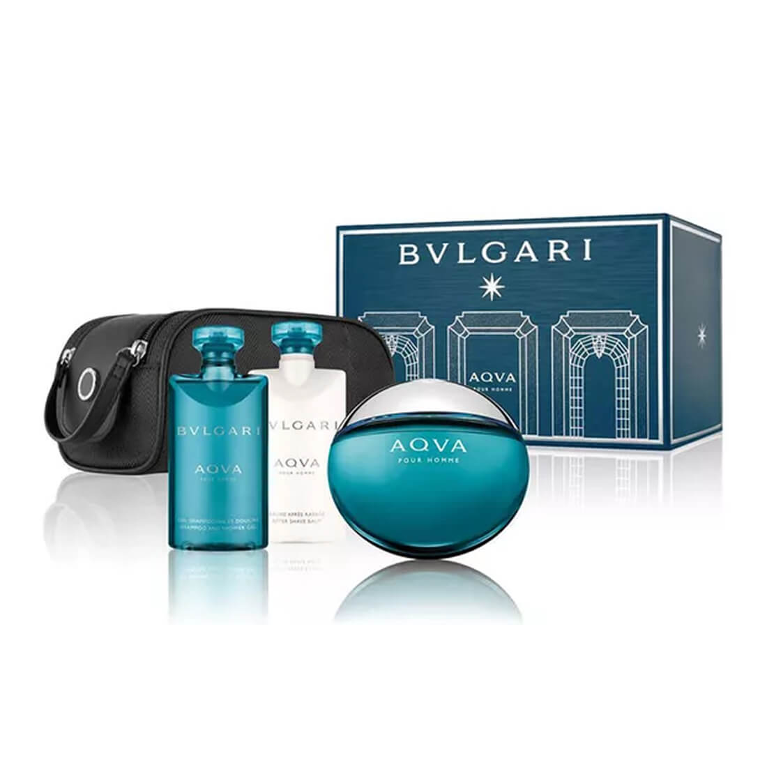 Bvlgari AQVA Pour Homme Gift Set Pack Of 4