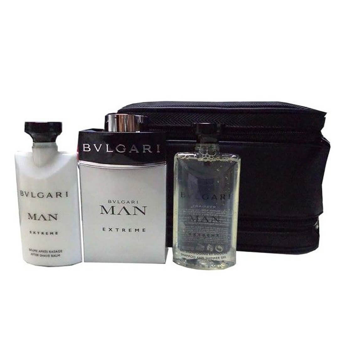 Bvlgari Man Extreme Perfume Gift Set For Men
