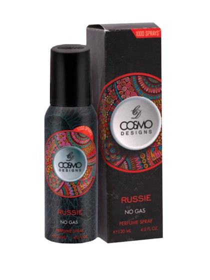 Cosmo Russie Pure Original No Gas Perfume Deodorant Spray - 120 ML