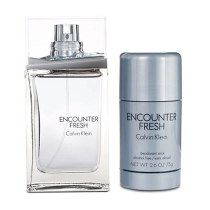Calvin Klein Encounter Fresh Perfume Gift Set For Men