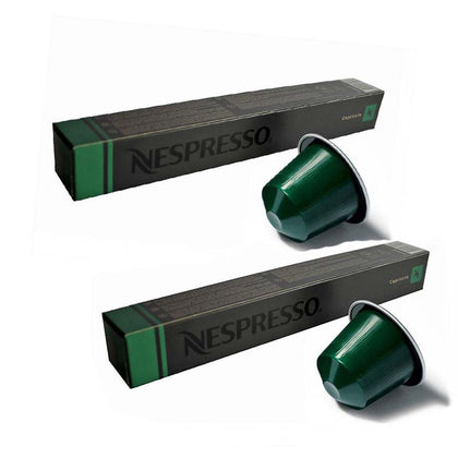Nespresso Capriccio Coffee Pods ( 2 Sleeves x  10 pods=20 pods)