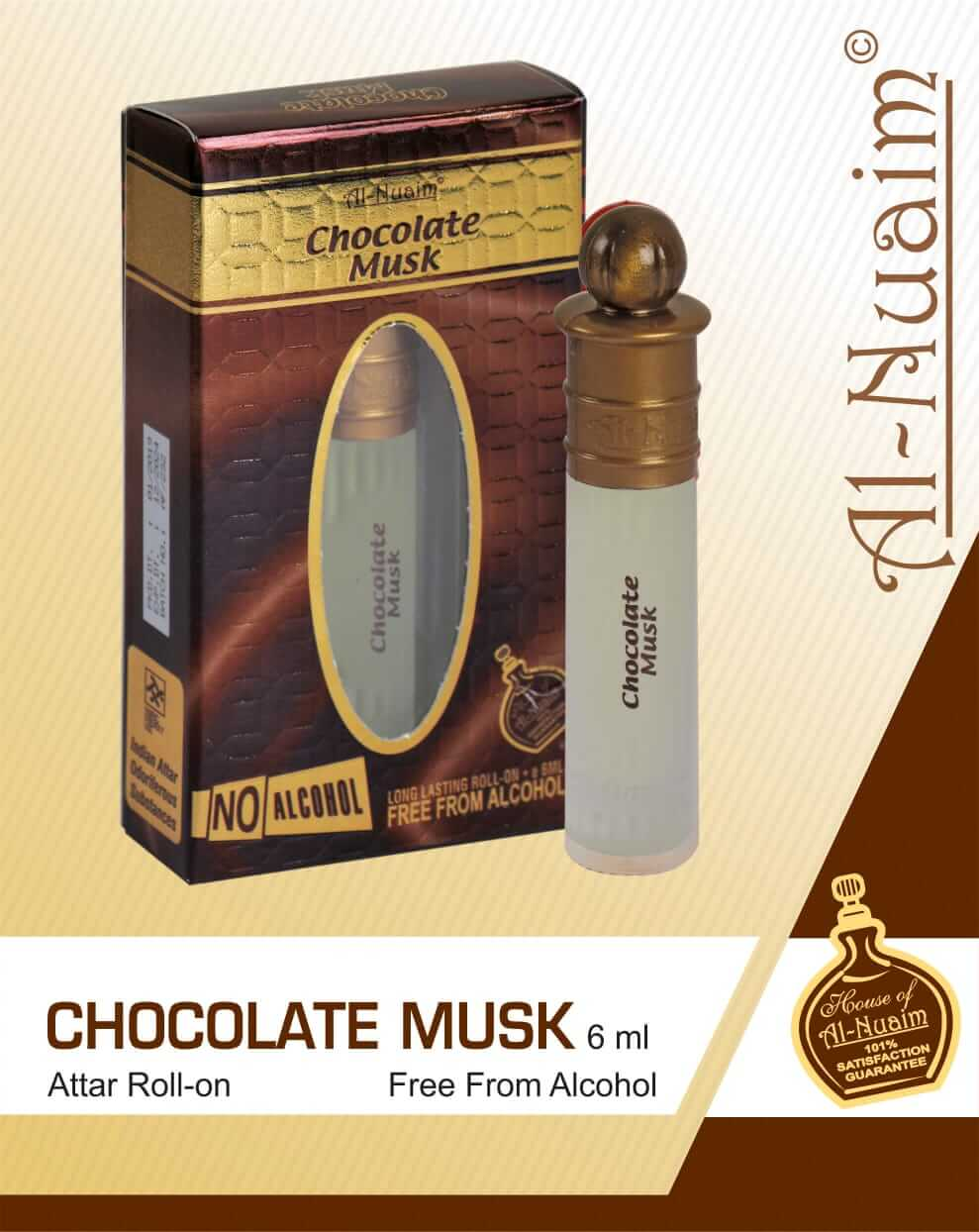 Al Nuaim Chocolate Musk Attar 6ML