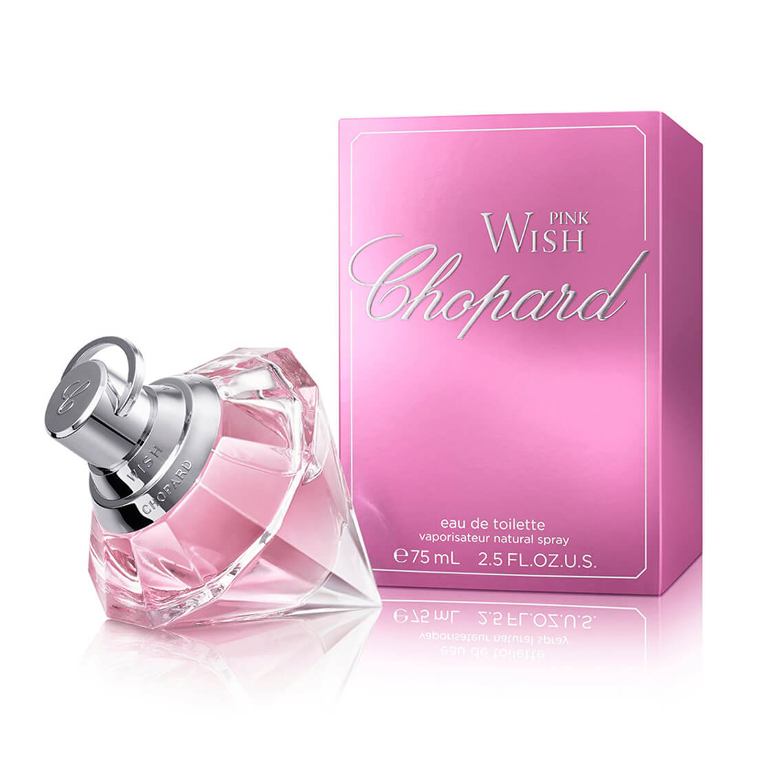 Chopard Pink Wish Eau De Perfume For Women - 75ml