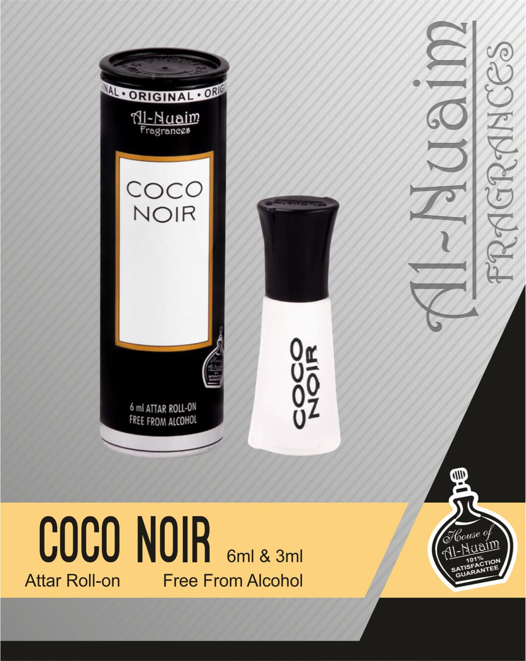 Al Nuaim Coco Noir Attar 6ML