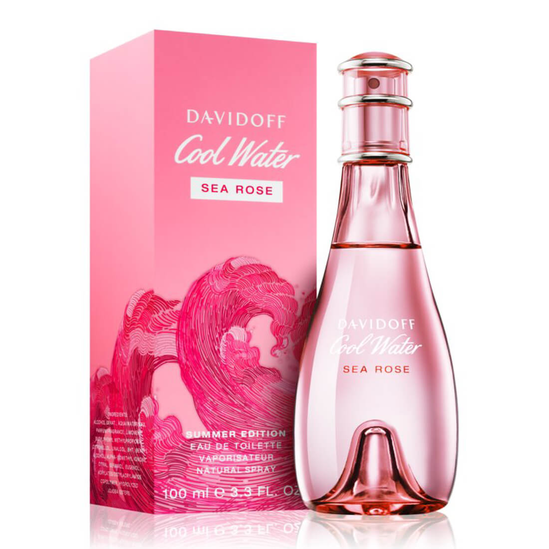 Davidoff Cool Water Sea Rose Summer Edition 2019 Eau De Toilette For Women 100ml