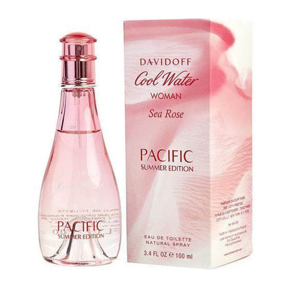 Davidoff Cool Water Sea Rose Pacific Summer Edition Eau De Toilette For Women 100ml