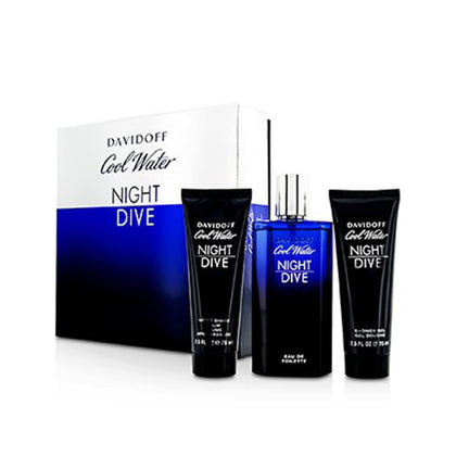Davidoff Cool Water Night Dive Gift Set For Men