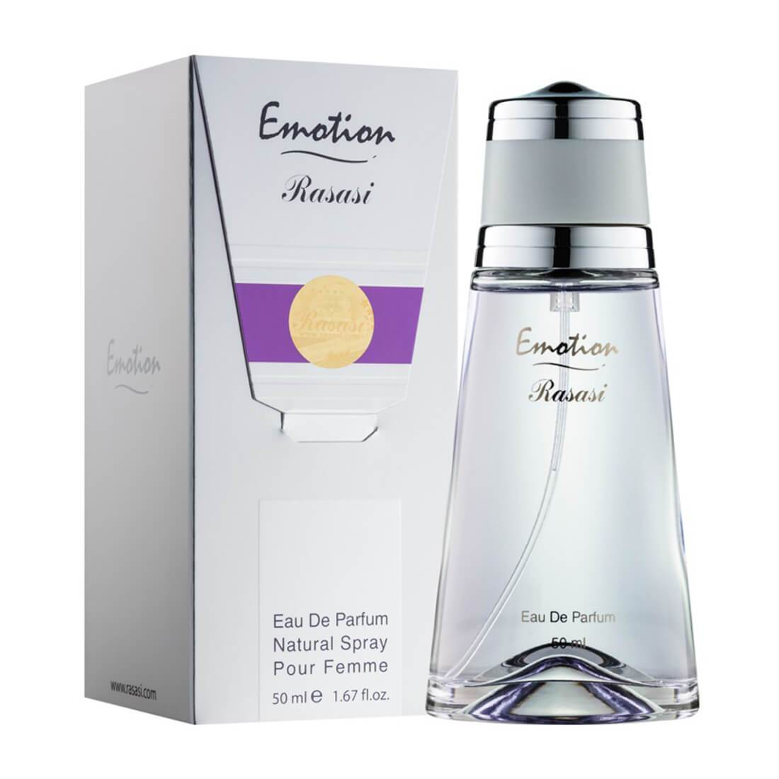 Rasasi Emotion Women Perfume - 50ml