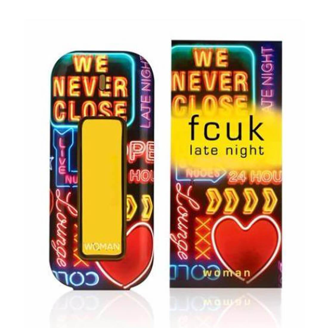 Fcuk Late Night EDT Perfume For Women - 100ml