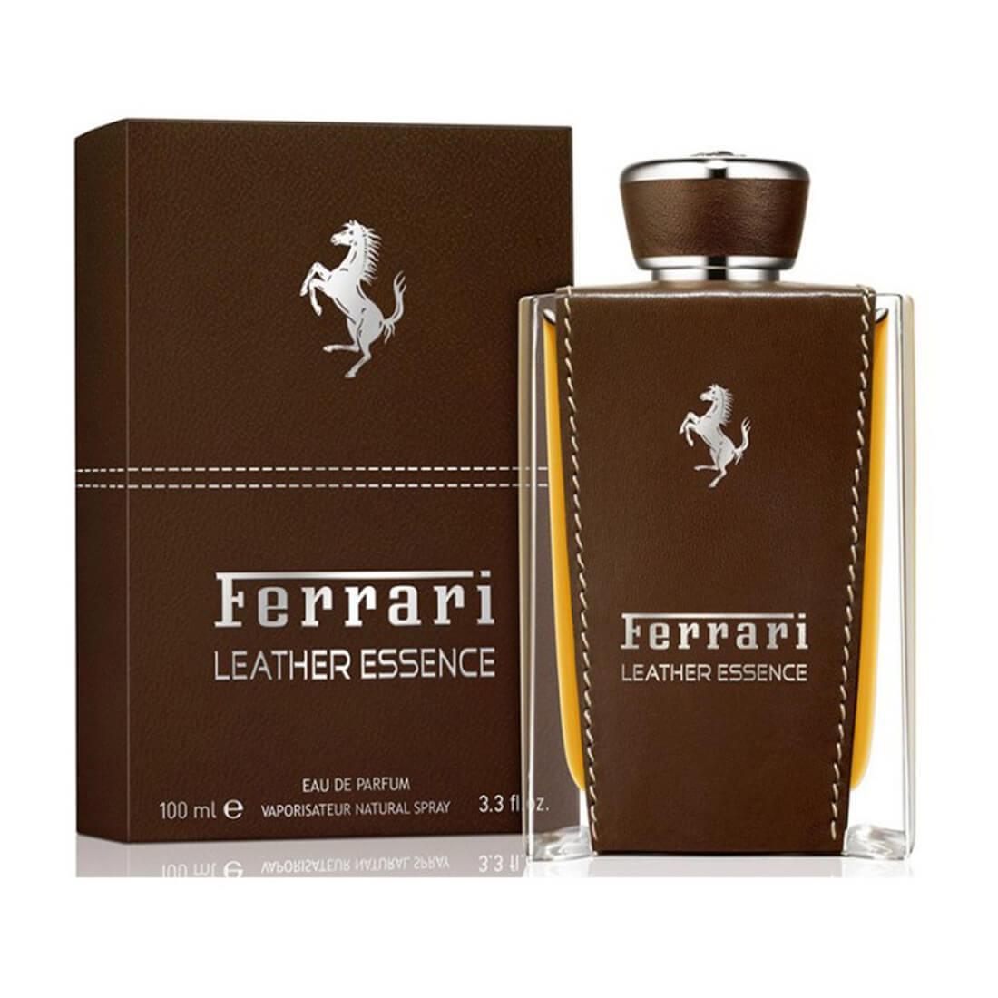 Ferrari Leather Essence Perfume For Men - 100ml
