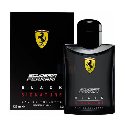 Ferrari Scuderia Black Signature Perfume For Men - 125ml