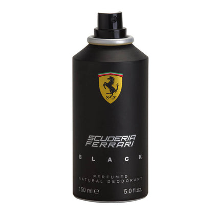 Ferrari Scuderia Ferrari Black Deodorant For Men Pack Of 3 - 150ml