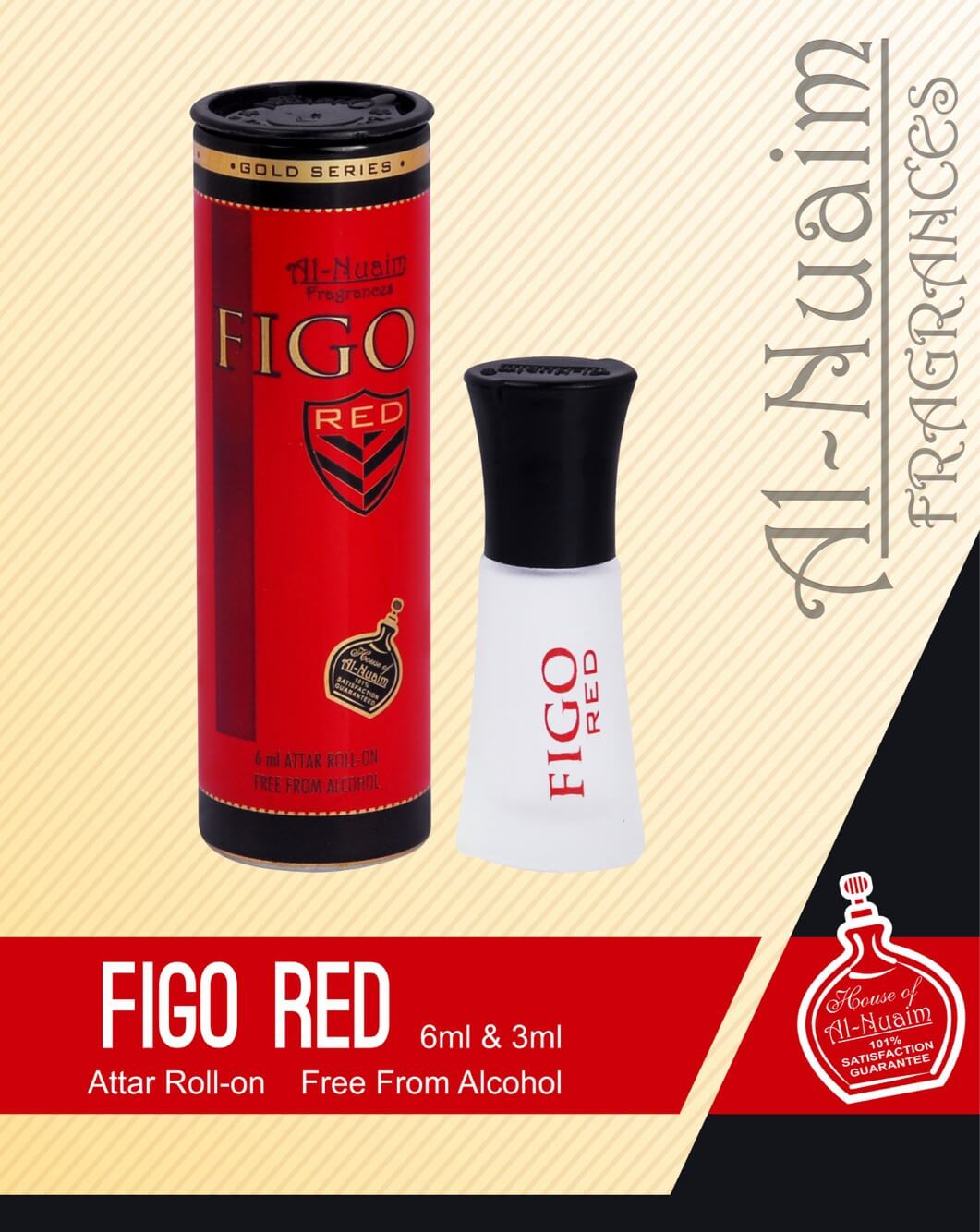 Al Nuaim Figo Red Attar 6ML