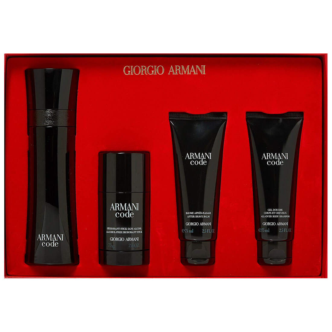 Giorgio Armani Armani Code For Men Gift Set Pack Of 4