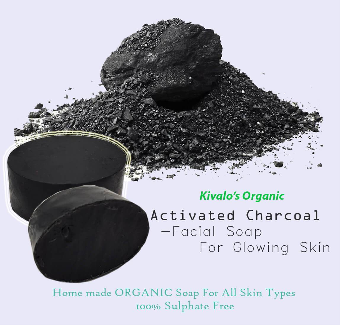 Organic Active Charcoal Soap
