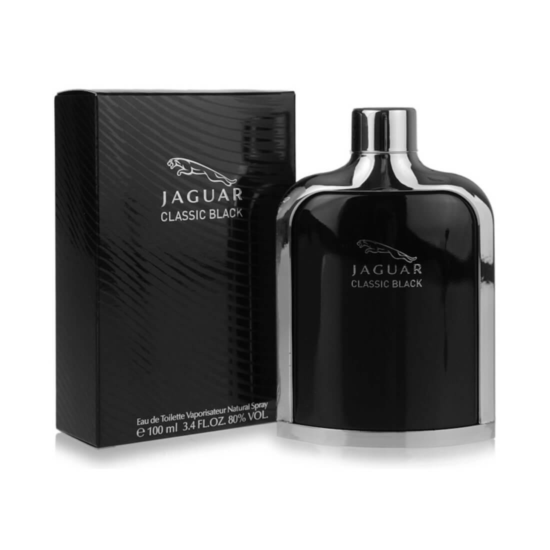 Jaguar Classic Black EDT Perfume For Men - 100ml