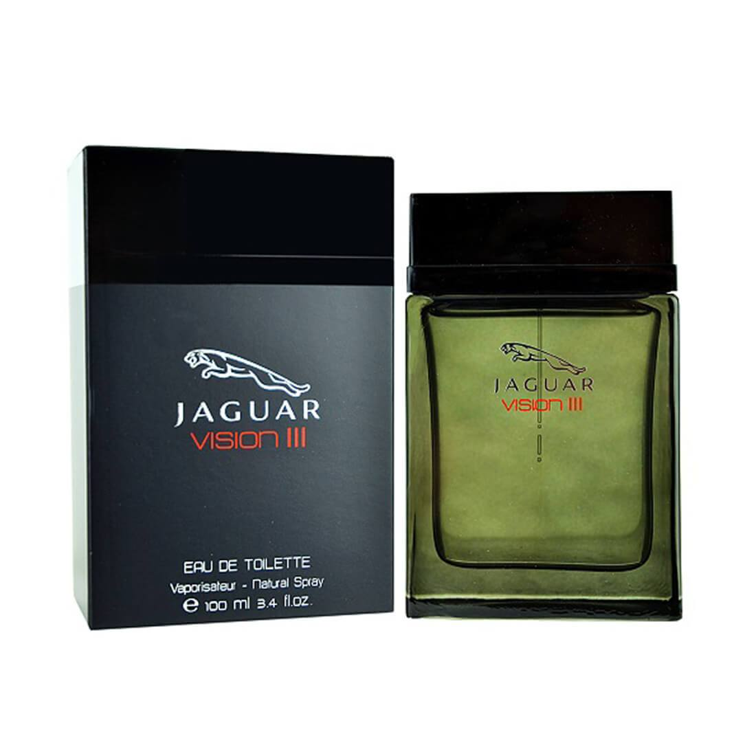 Jaguar Vision III EDT Perfume For Men - 100ml