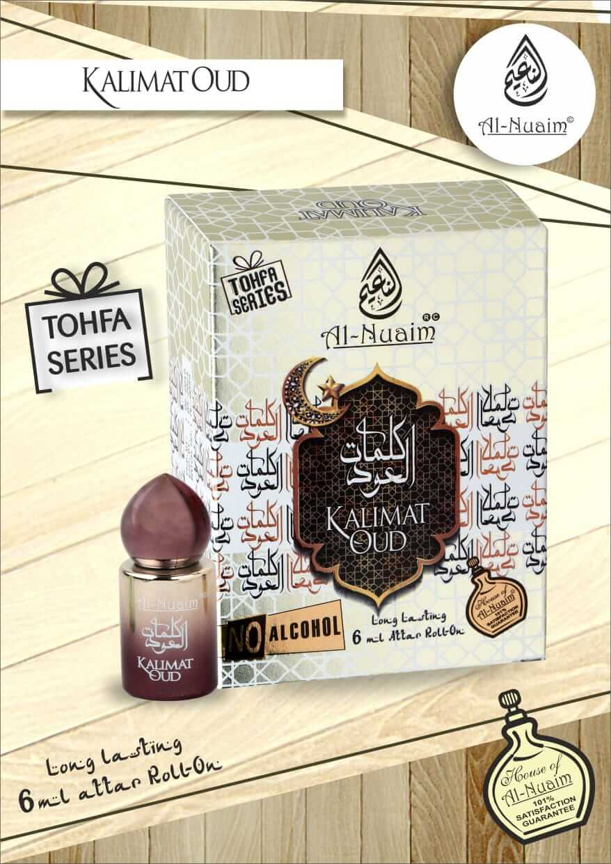 Al Nuaim Kalimat Oud Attar 6ML Tohfa Series