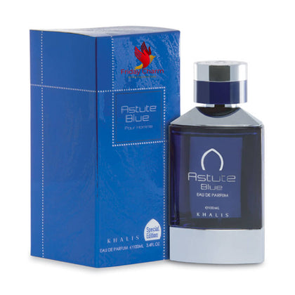 Khalis Perfumes Astute Blue Fragrance Spray - 100 ml