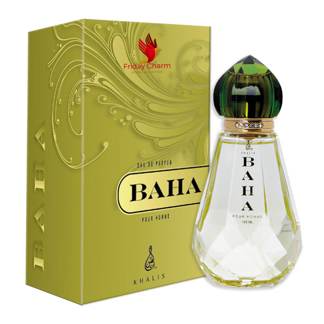 Khalis Perfumes Baha Fragrance Spray - 100ml