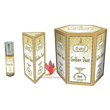 Khalis Golden Dust Fragrance 6 ml Attar Pack of 6