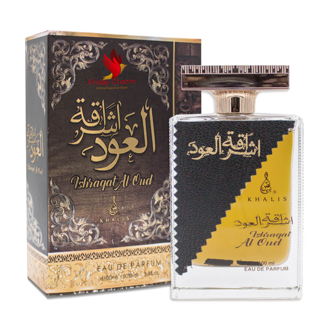 Khalis Ishraqat Al Oudh Fragrance Spray - 100 ml