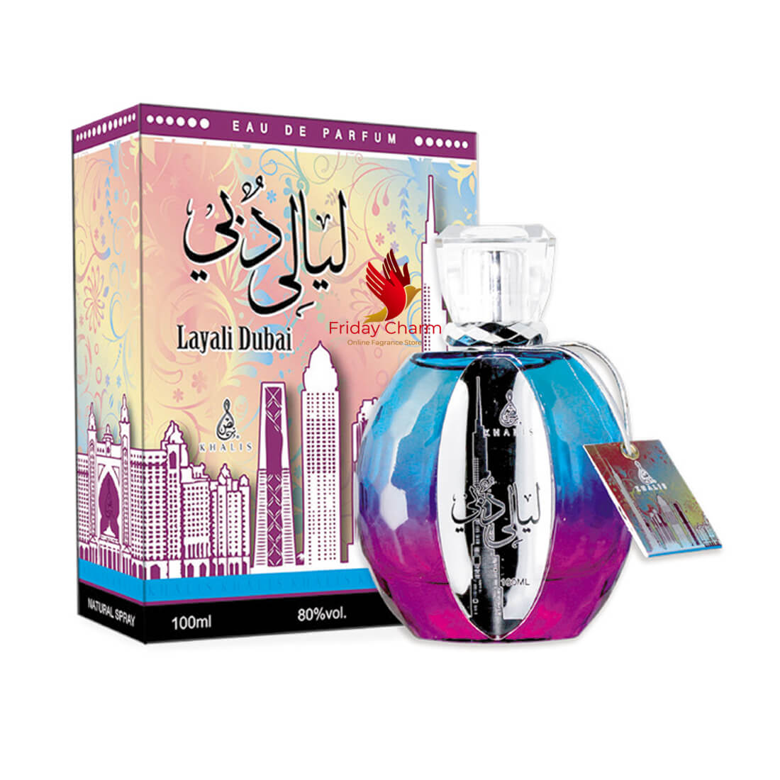 Khalis Layali Dubai Fragrance Spray - 100ml