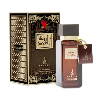 Khalis Rouhat Al Oudh Fragrance Spray - 100 ml