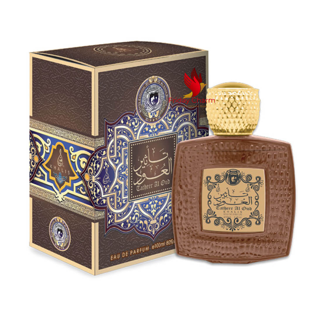 Khalis Tatheer AL Oudh Fragrance Spray - 100 ml