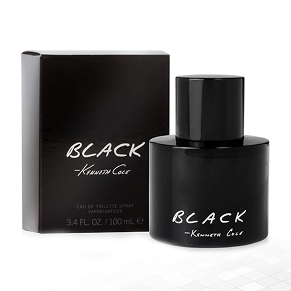 Kenneth Cole Black Eau De Toilette For Men - 100ml
