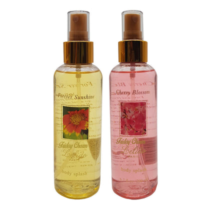 Lelido Paris Cherry Blossom & Forever-Sunshine Body Splash Mist 200ml