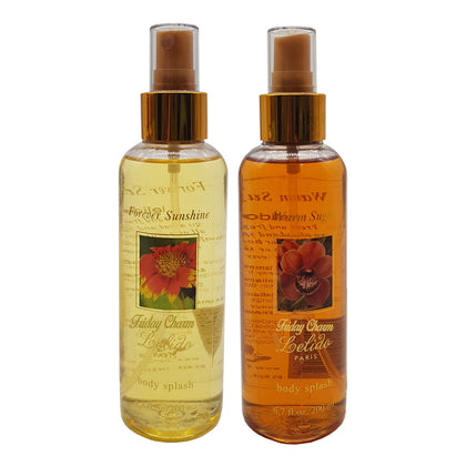 Lelido Paris Forever Sunshine & Warm Sugar Body Splash Mist 200ml