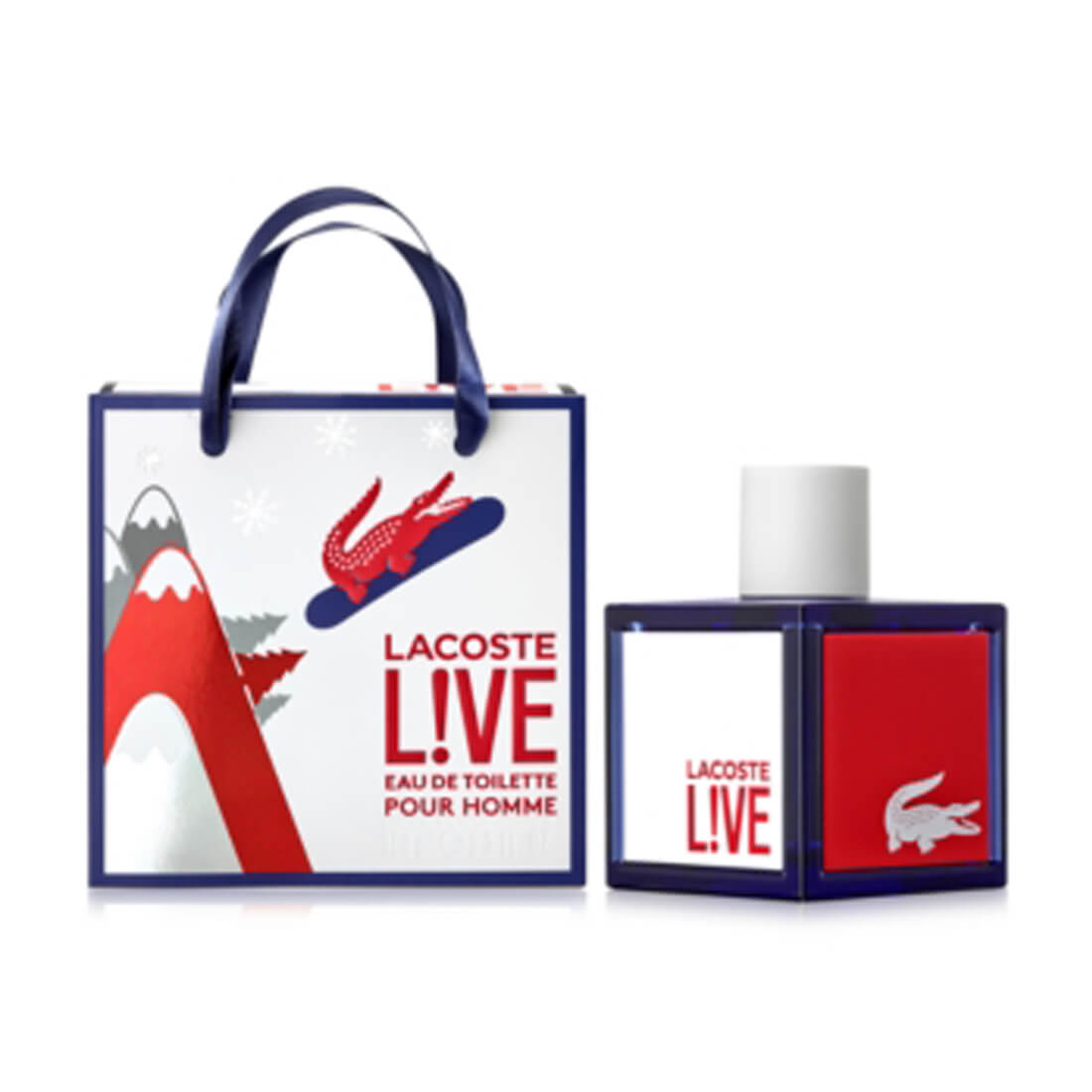 Lacoste Live Pour Homme Eau De Toilette For Men - 100ml