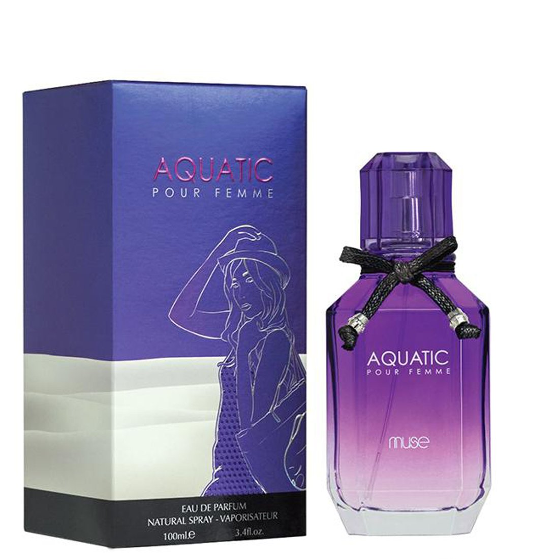 Lamuse Aquatic Pour Femme Perfume Spray - 100ml