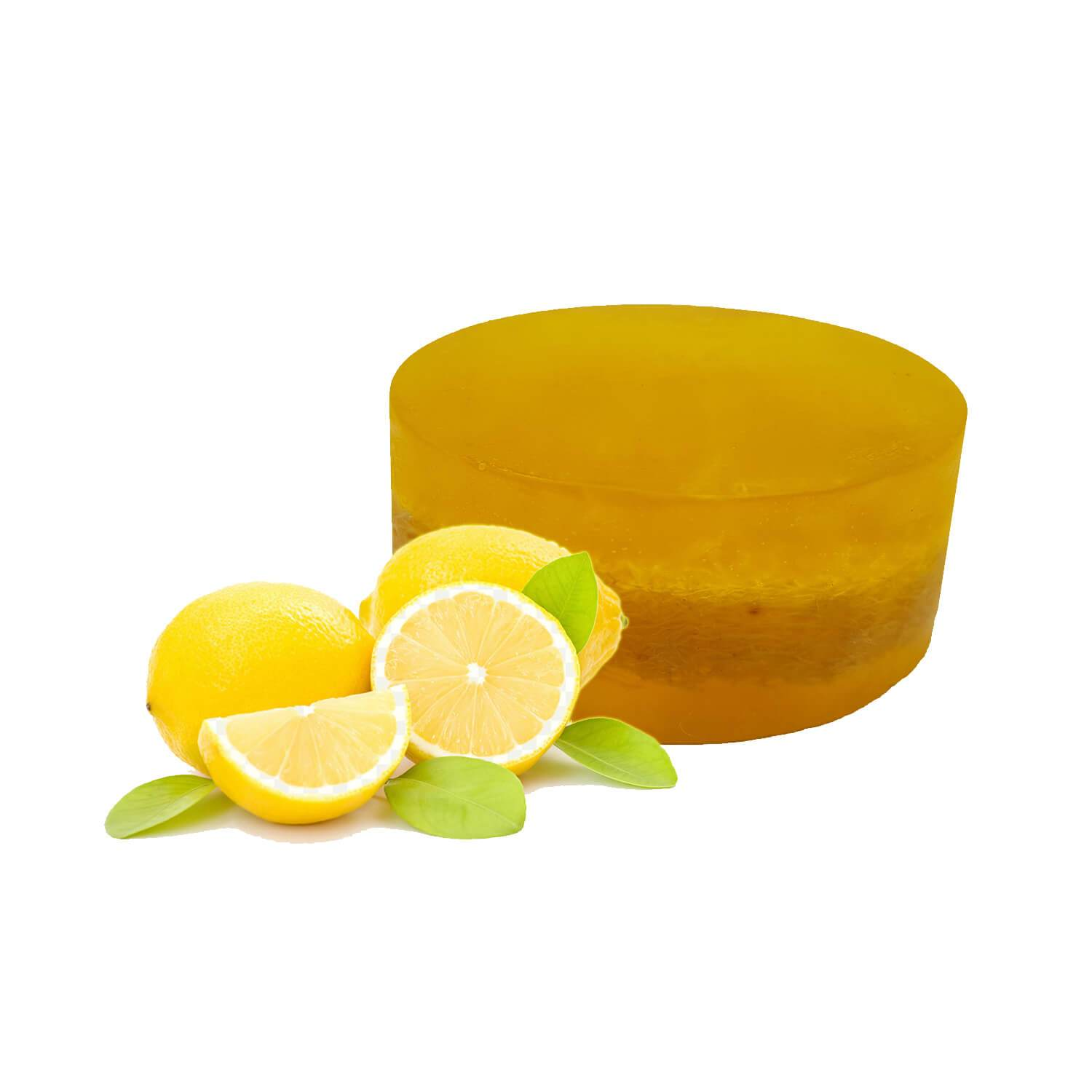 Organic Lemon Loofah Soap