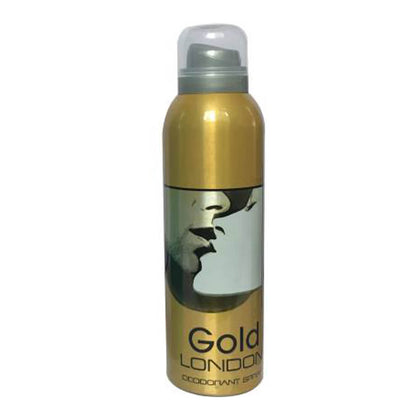 London Gold Deodorant Body Spray 200ml