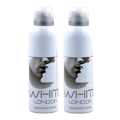London White Deodorant Body Spray Pack of 2 x 200ml