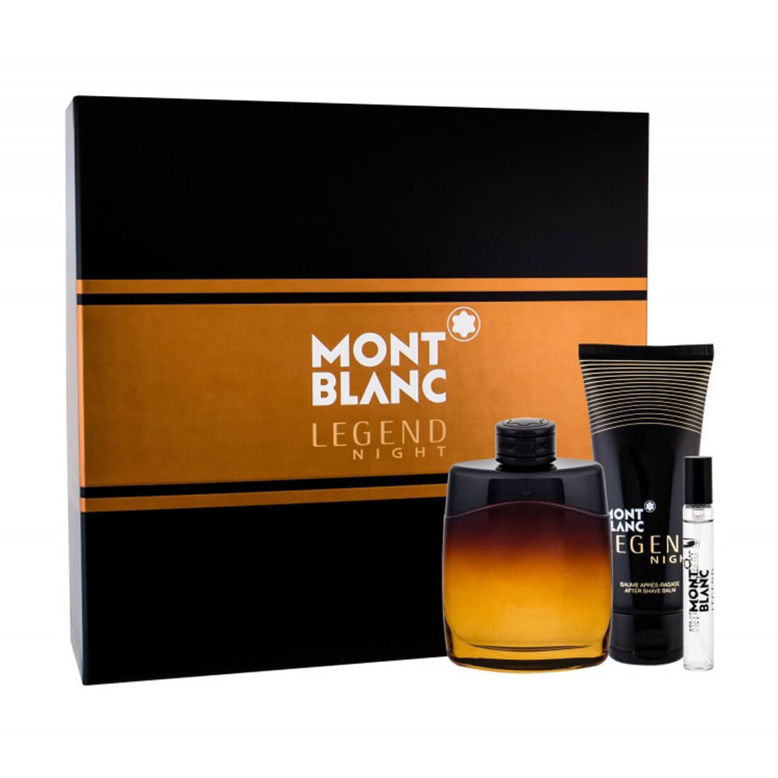 Mont Blanc Legend Night Gift Set For Men