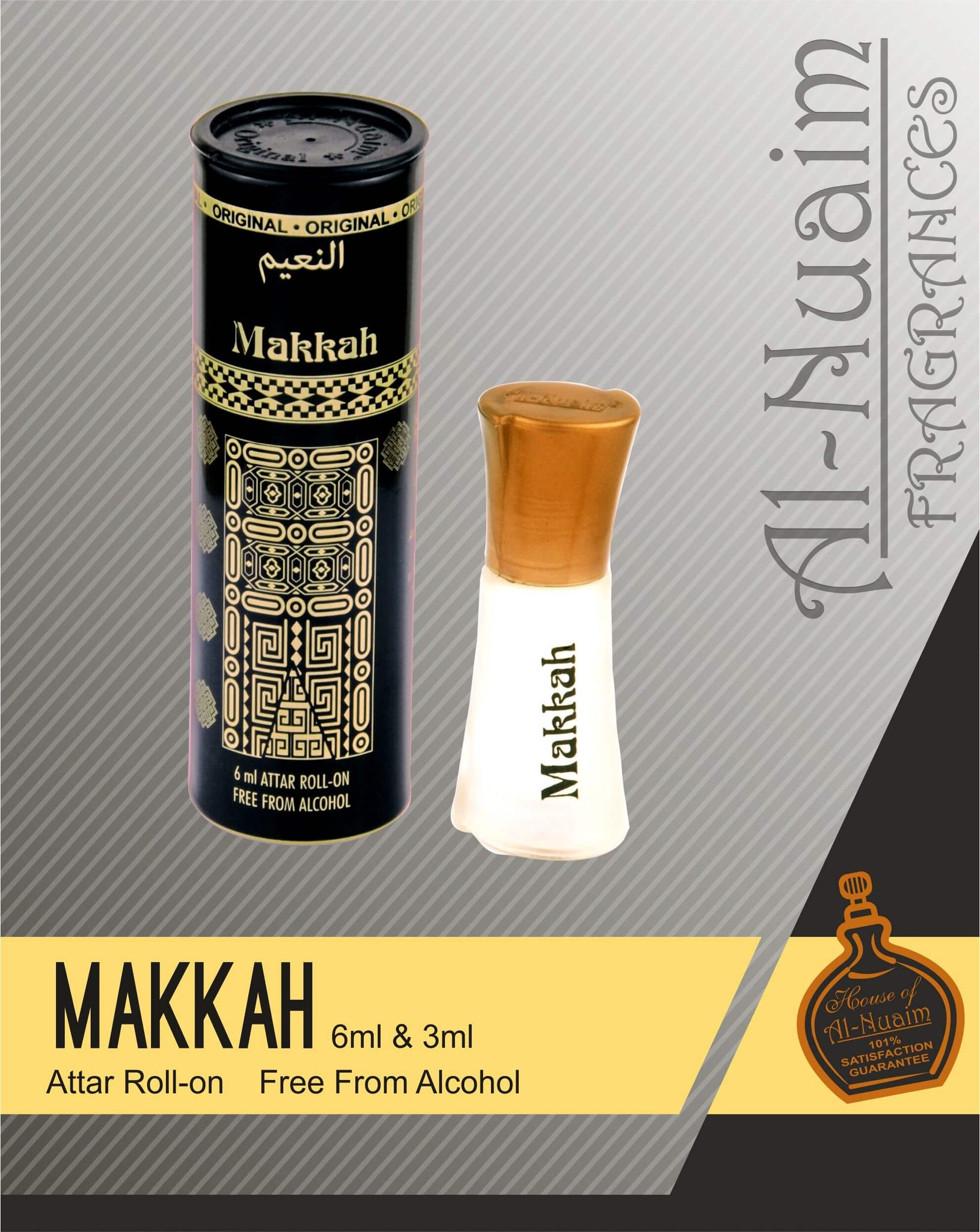 Al Nuaim Makkah Attar 6ML