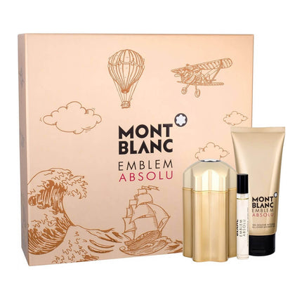 Mont Blanc Emblem Absolu Perfume Gift Set For Men