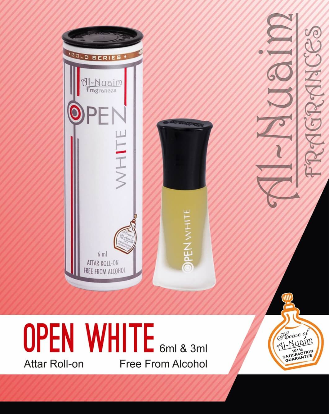 Al Nuaim Open White Attar 6ML