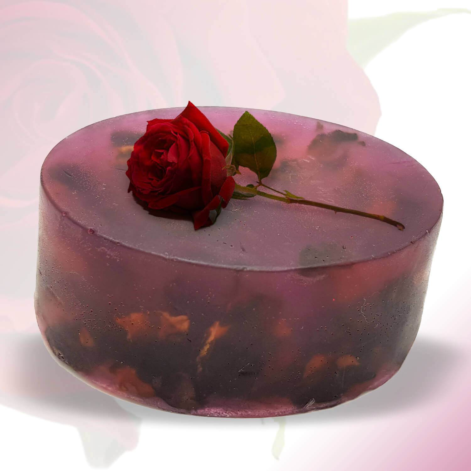 Organic Soap ROMANTIC ROSE For All Skin Type Bathing Soap